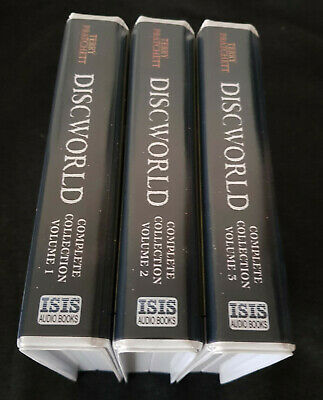 Discword Complete Collection Volumes 1,2 & 3 Terry Pratchett Audiobooks 1 - 41