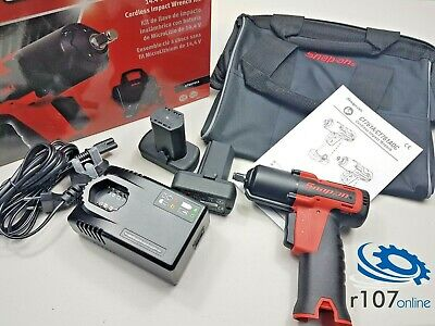 """Snap On 14.4v 3/8"""" Impact Wrench Set CTEU761A (Incl. VAT), Red CT761"""