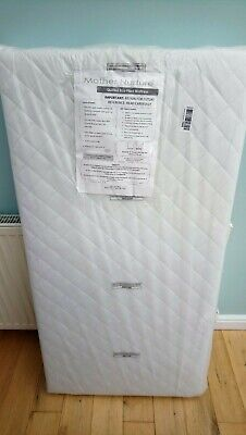UK Made Deluxe 120x60cm Eco Fibre Quilted Cot Mattress