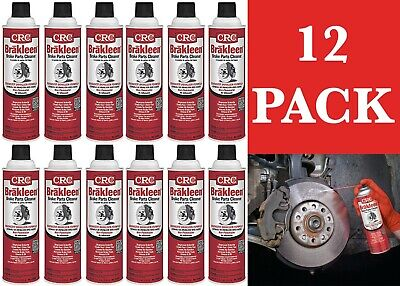 12 PACK CRC 05089 Brakleen® Brake Parts Cleaner 19oz Cans New Free Shipping USA
