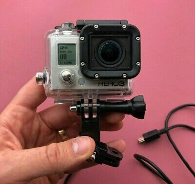 GoPro HERO3 Action Camera With Waterproof Case, Chest Strap & Connectors