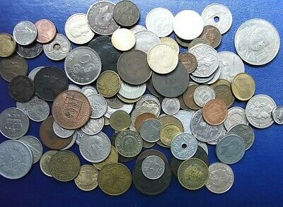 1.8kg Mixed Foreign & UK Coins: Italy,Hong Kong,South Africa,Malta,Netherlands,I