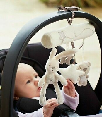 Great Newborn Infants Baby Pram Beds Bells Soft Hanging Toy Animals Handbell