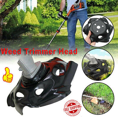 Outdoor Weed Trimmer Head Lawn Mower Sharpener Weed Trimmer Head Cutter forPower