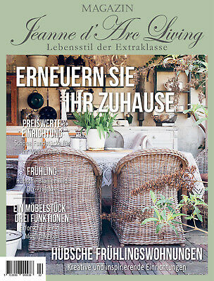 B-Ware Jeanne d'Arc Living Magazin 2/2019 Shabby Chic Vintage Brocante Industri