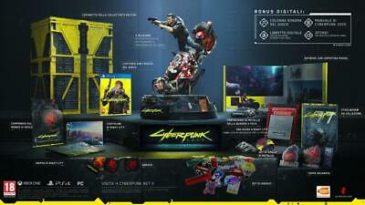 PS4 CYBERPUNK 2077 Collector's Edition ITA + Comic Book - Preordine 16/04/2020