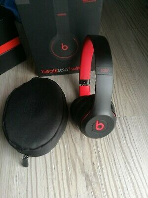 Beats by Dr. Dre Solo3 Headband Wireless Headphones - Citrus Red