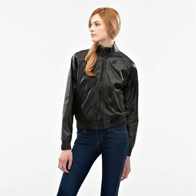 K-Way Bomber Woman Leather Art. K007NG0 Mod. Carnaby Kl Air
