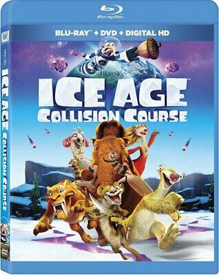 Ice Age 5 Collision Course DVD + Digital HD with Ultraviolet 2 Discs Set