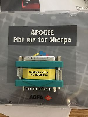 Agfa PDF Printer Rip With Dongle