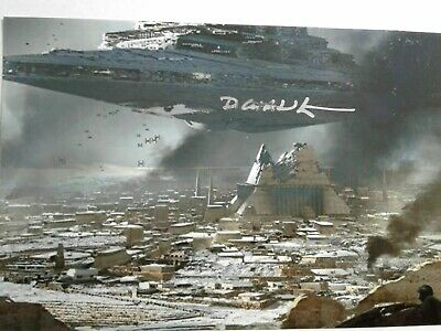DOUG CHIANG Authentic Hand Signed 4X6 Photo - STAR WARS ARTIST - RARE