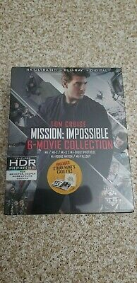 Mission Impossible 6 Movie Collection 4k Ultra HD Blu-ray - Brand New, Sealed
