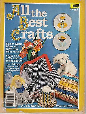 All the Best Crafts -  gifts & decorating -print year 1980