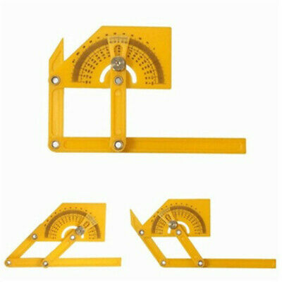 180 Degree Goniometer Angle Finder Miter Gauge Arm Measuring Ruler Protractor
