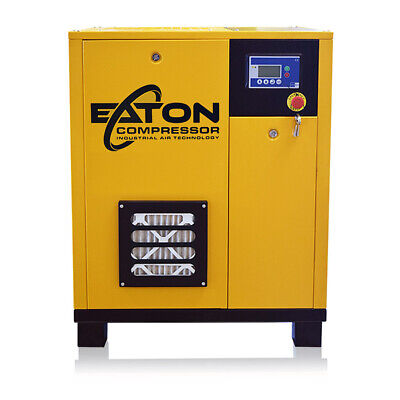 10HP Rotary Screw Air Compressor 3 Phase 230V Variable Speed