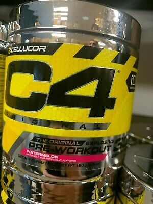 Cellucor C4 ID Series 30 Servings Pre Workout Watermelon Fast Free Shipping