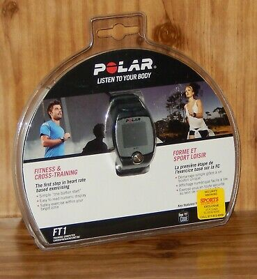 New Polar FT1 Fitness & Cross-Training Heart Rate Monitor