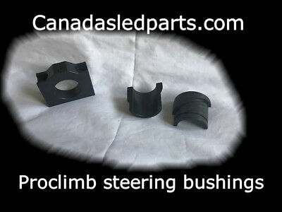 Arctic cat composite steering bushings proclimb and ascender chassis