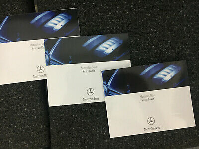 Merc Mercedes Benz Service Book Genuine Covers All Models Petrol Diesel Mercedes