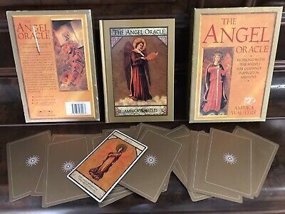 Angel Oracle Cards & Book Ambika Wauters Good Luck Love White Magic Wicca