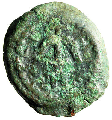 MASSACRE OF INNOCENTS Herod I The Great Infamous Judean King 37-4 BC Coin