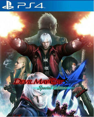 Devil May Cry 4 Special Edition PS4 (NEW) english