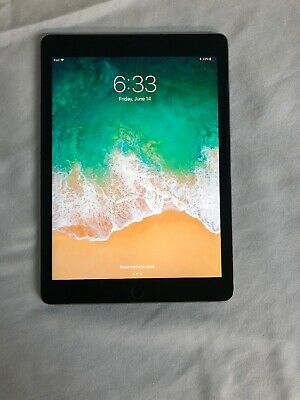 Apple iPad Air 2 64GB, Wi-Fi, 9.7in - Space Gray MGLW2LL/A -A1566