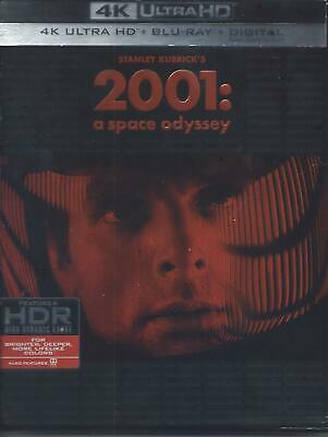 2001 A Space Odyssey (4K Ultra Hd/Bluray)(3 Disc Set)(Used)