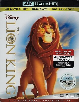 The Lion King (4K Ultra Hd/Bluray)(2 Disc Set)(Used)