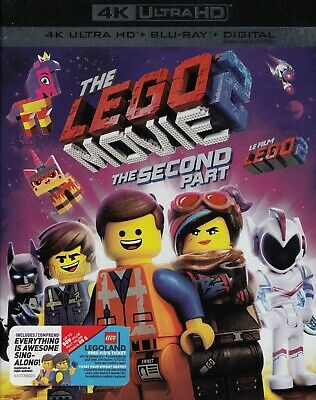 The Lego Movie The Second Part (4K Ultra Hd/Bluray)(2 Disc Set)(Used)