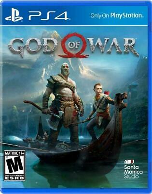God of War PS4 (Sony PlayStation 4, 2018) - Brand New - Sealed