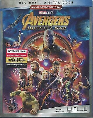 Avengers Infinity War (Bluray/Digital Code)(Used)