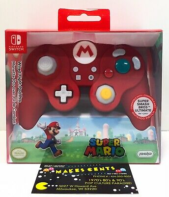 PDP Mario Wired Red Fight Pad Pro Controller Nintendo Switch Brand New In Box