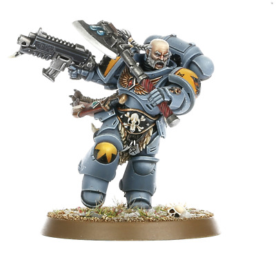 Warhammer 40k Space Wolves Primaris Battle Leader Haldor Icepelt Kill Team -NoS-