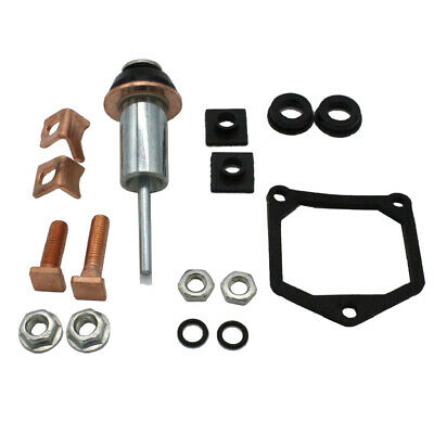 Starter Rebuild Repair Kit Solenoid Contacts & Plunger Set for Denso Toyota