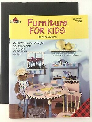 Furniture For Kids Book by Allison Stilwell Decorative Tole Painting Instruction