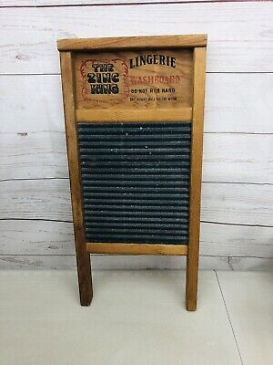 The Zing King Lingerie National Washboard Co No 703