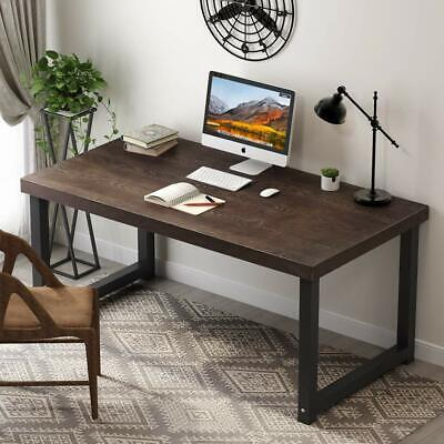 Home Office Desk Workstation Study Writing Table with 27.5''Extra Wide Desktop