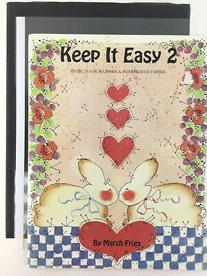 Keep It Easy 2 Book by March Fries Decorative Tole Painting Instruction Pattern