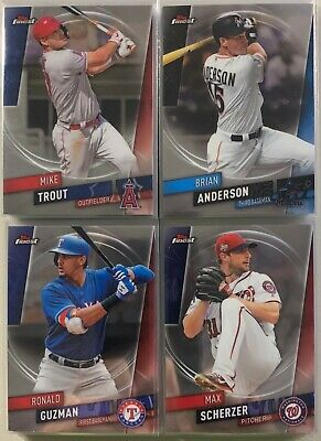 2019 Topps Finest Base Card Lot PYC Complete Your Set