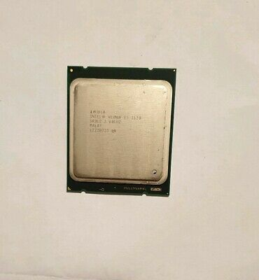 Intel Xeon E5 1620 3.60Ghz 10Mb Cache Lga2011 Cpu