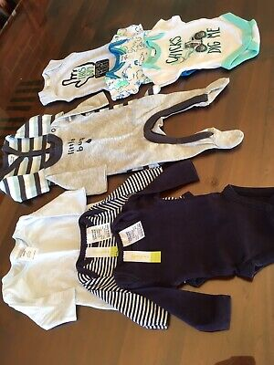 Premature Premie baby Boy clothes size 00000 Bundle Bulk X 8 Items