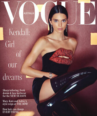 VOGUE AUSTRALIA Magazine June 2019 Kendall Jenner Express