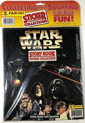 New - Star Wars Story Book Sticker Collection (Panini 1996)