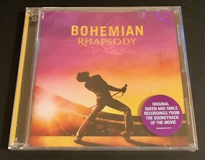 BOHEMIAN RHAPSODY Soundtrack CD (QUEEN) Sealed BRAND NEW - Hole Punched see pics