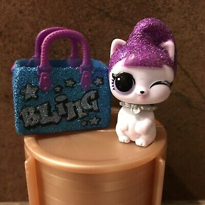 LOL Surprise Makeover Series Wave 2 LILS PURRFECT BLING Kitty Rare Gold M-005
