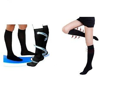 Medical Compression Socks M Support Stocking Travel Flight Anti-fatigue Comfort