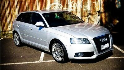 Audi A3 S/Line 2010 Turbo Sports Auto Black Leather Hatch Immaculate condition