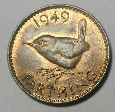 1949 Farthing Of King George Vi