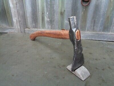 Vintage rabbit trap setter / axe